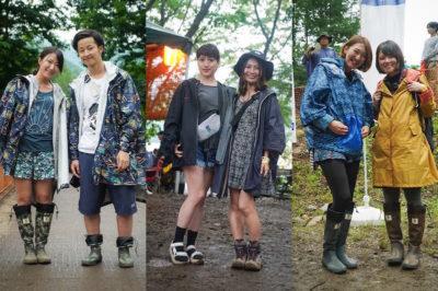 【永久保存版】野外フェスでの雨対策アイテムまとめ