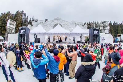 雪上フェス「豪雪JAM」に三宅洋平、ユアソン、切腹ピストルズら計7組の出演が決定!