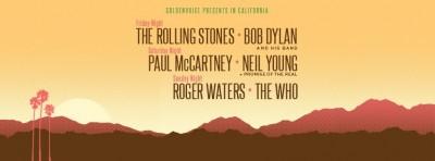ロック界のレジェンドが集結!「Desert Trip」10月アメリカにて開催!