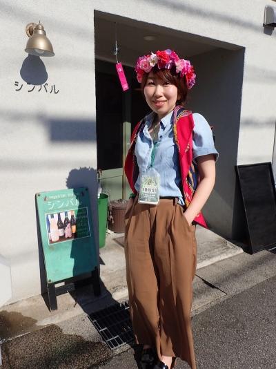 NAME:けいこさん花冠とスカーフが差し色になって華やかな印象♪