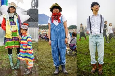 王道秋フェスコーデが大集結!朝霧JAM2016ファッションスナップ