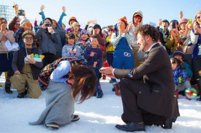 【フェス婚さん いらっしゃい!】豪雪JAMでサプライズプロポーズ! 萩さん&真由美さん編