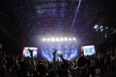 179組が出演した「COUNTDOWN JAPAN 16/17」の来場者数は18万人越え!