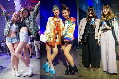 「electrox 2017」ガールズファッションスナップ
