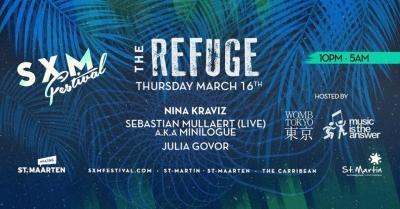 渋谷WOMBより新たなプロジェクトが発表!カリブ海の音楽フェス「SXM Festival」内にて「THE REFUGE」を開催