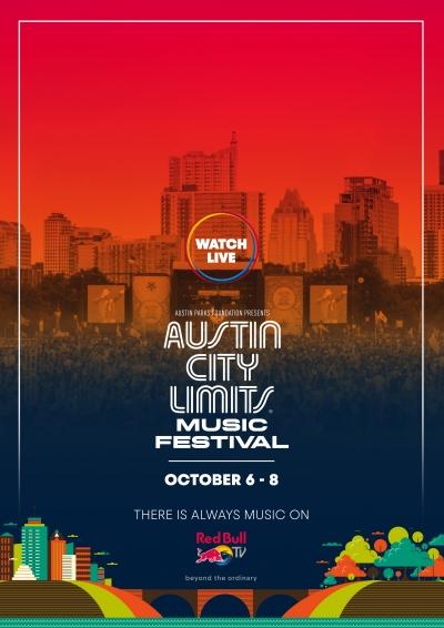 【10月7日(土)AM4:00スタート】「AUSTIN CITY LIMITS  2017」Red Bull TVにてライブ配信