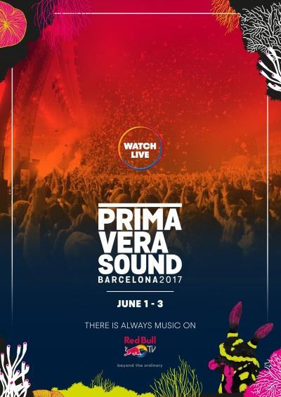 【6月2日AM2:00スタート】「PRIMAVERA SOUND 2017」Red Bull TVでライブ配信