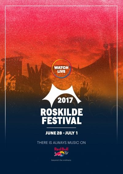 【6月29日AM4:00スタート】フーファイ、アーケイド・ファイア出演の「ROSKILDE FESTIVAL 2017」がRed Bull TVにてライブ配信