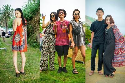 リゾートスタイルのアート&ミュージックの祭典「ZIPANG 2017」来場者スナップ&会場フォトレポート