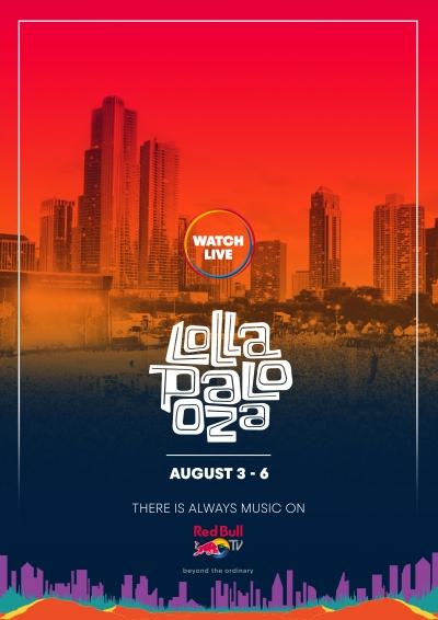 【8月4日AM7:30スタート】「Lollapalooza 2017」Red Bull TVにてライブ配信
