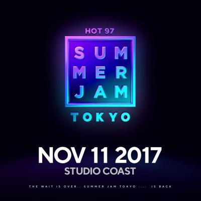 「HOT 97 SUMMER JAM TOKYO 2017」11月に開催決定