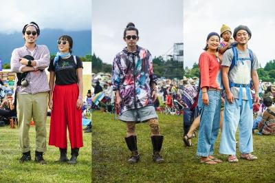 クール&スタイリッシュなアウトドアスタイルが多数!「朝霧JAM 2017」ファッションスナップ