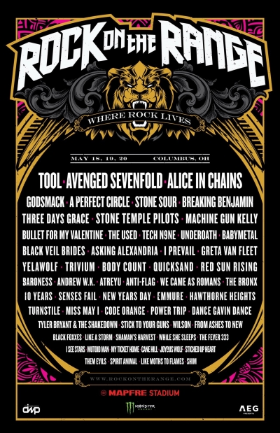 アメリカ「Rock On The Range」とイギリス「Download Festival」にBABYMETALの出演が決定