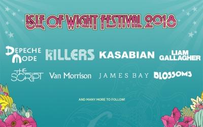 50周年を迎える英・ワイト島フェスティバル、第1弾発表でキラーズ、カサビアン、リアムギャラガーら出演決定