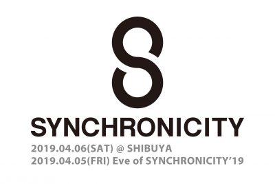 「SYNCHRONICITY'19」4月6日(土)に開催決定&前夜祭も開催へ