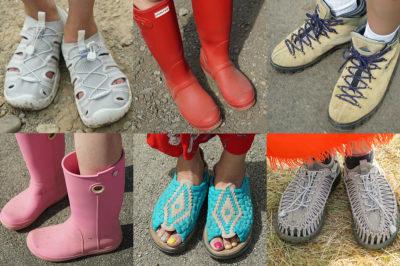 野外フェスで何履けばいい?フェス靴スナップ@ FUJI ROCK FESTIVAL'18