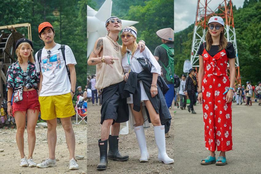 【FUJI ROCK FESTIVAL'18 】嵐も乗り切るお洒落フジロッカーを激写!フジロック来場者スナップ