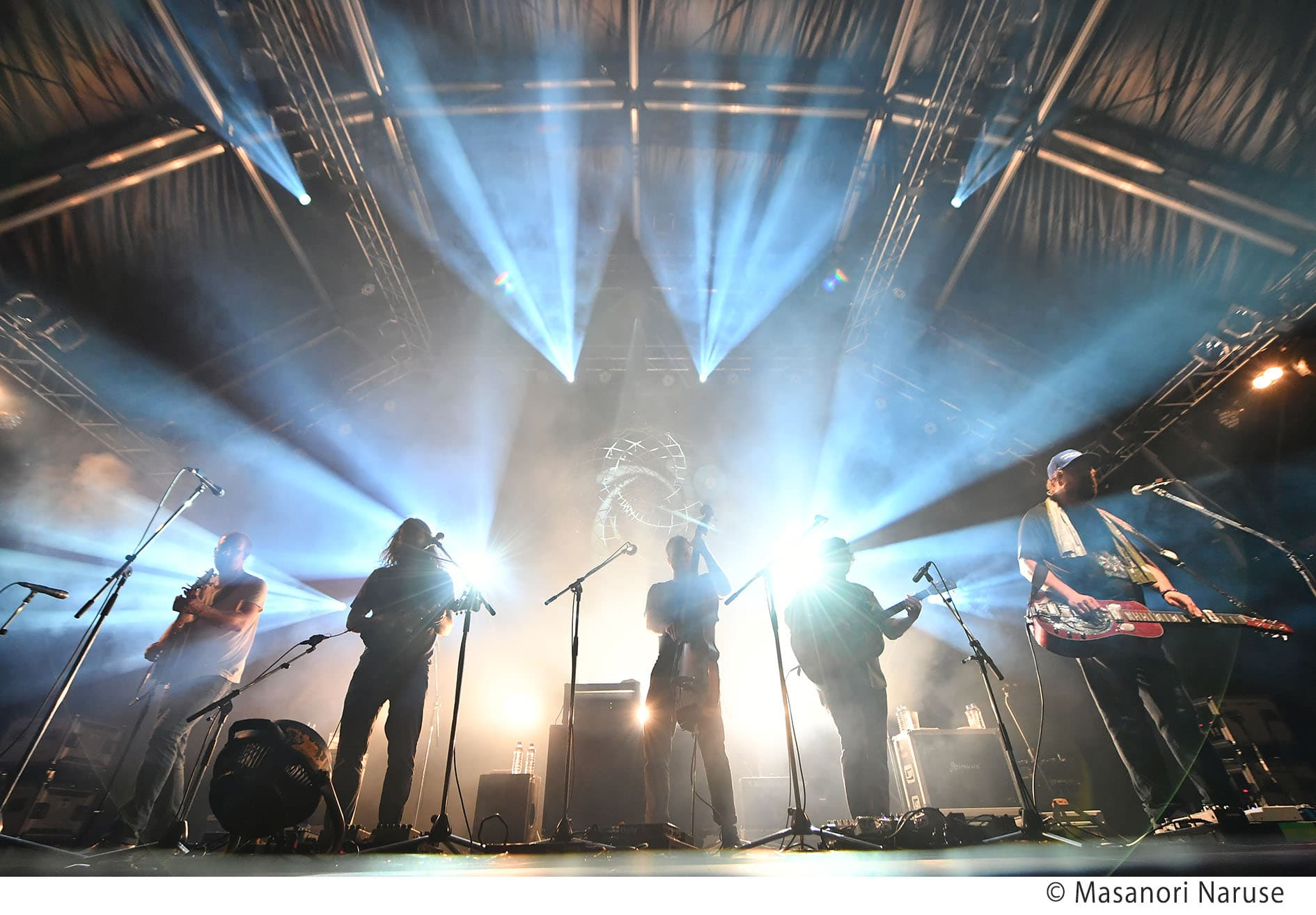 【FUJI ROCK FESTIVAL'18】ヘブンのトリを務めた全米屈指のライヴ・バンド、グリーンスカイ・ブルーグラス独占インタビュー