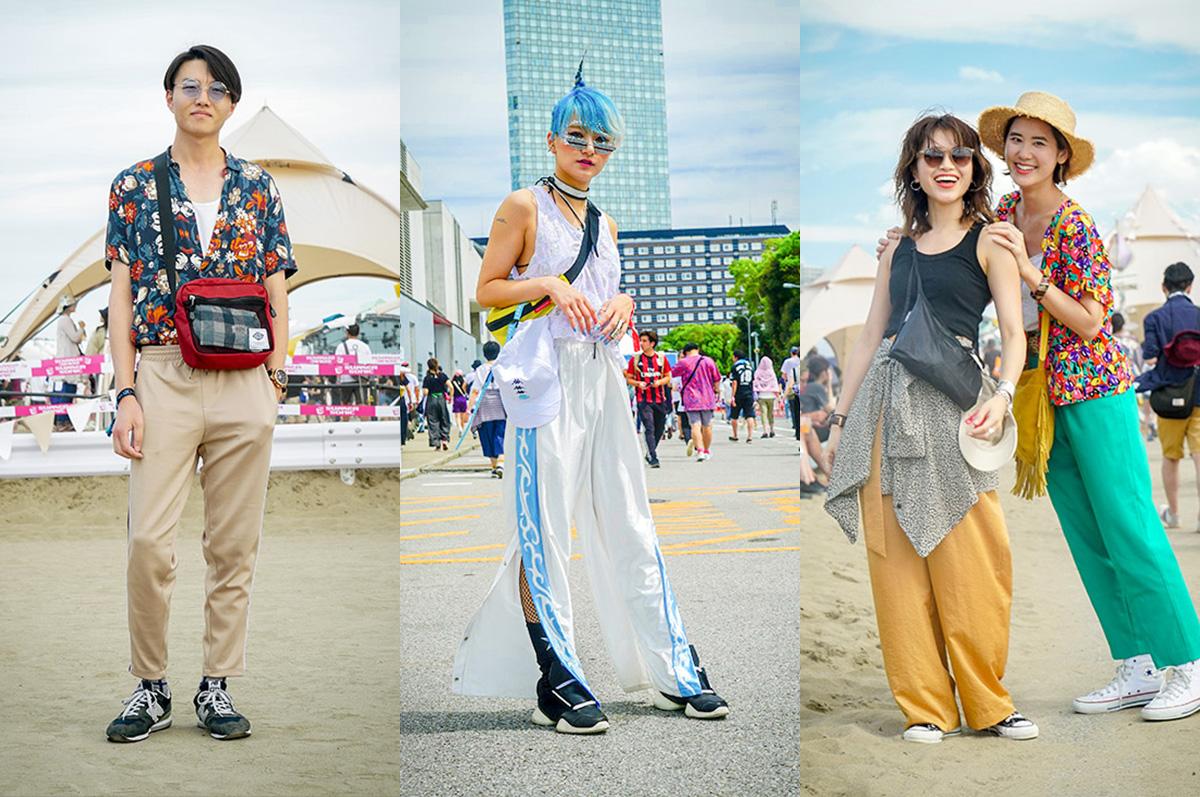 【SUMMER SONIC 2018】都市型フェスファッションの最前線をキャッチ!サマソニ来場者スナップ