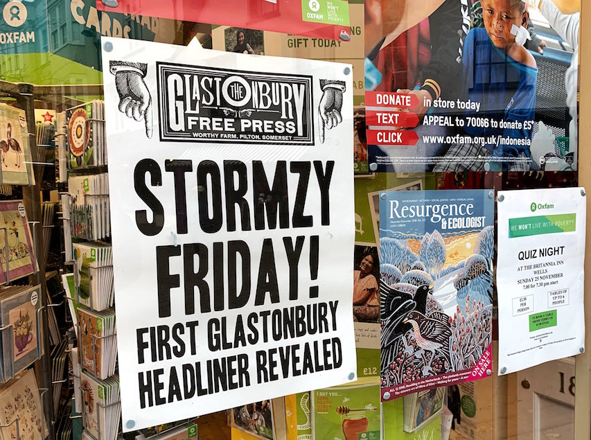 「グラストンベリー2019」金曜日のヘッドライナーはUKグライムMC・Stormzyに決定