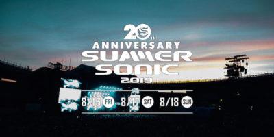 【SUMMER SONIC 2019】20周年サマソニは、東阪あわせて30万人を動員