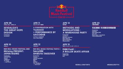 レッドブルの都市型音楽フェスを振り返る! 長編ドキュメンタリー、スペシャル対談、ライブ音源ほか、 WEBスペシャルコンテンツ公開
