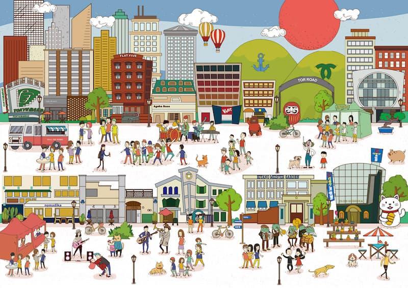 神戸トアロードが舞台の「トアロード・アコースティック・フェスティバル2019」最終アーティスト発表