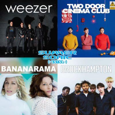 サマソニ出演アーティストの単独公演「SUMMER SONIC EXTRA」で、WEEZER、TWO DOOR CINEMA CLUBら4公演が決定