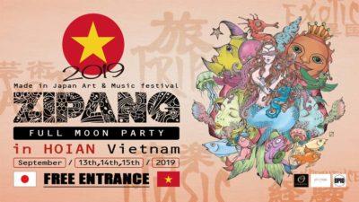 Music&Artフェス「ZIPANG」がベトナムにてフリーパーティー開催