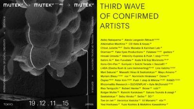 渋谷開催「MUTEK.JP」最終アーティスト発表で、Veronica Vasicka、Seihoら25組追加