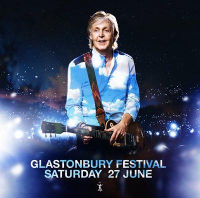 50周年を迎える英「グラストンベリー」、土曜日のヘッドライナーはポール・マッカートニーに決定