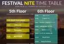 今週土曜開催の「FESTIVAL NITE」最終ラインナップ&タイムテーブル公開!